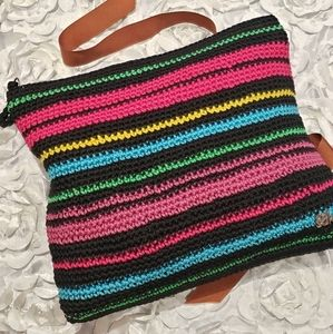 The Sak Multicolored Knitted cosmetic bag